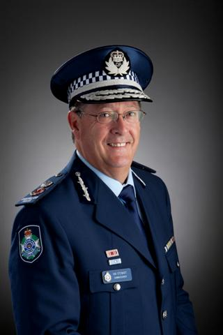 Ian Stewart, Qld Police Commissioner